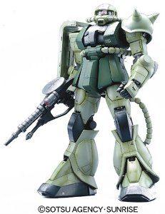PG 1/60 MS-06F ザクII (機動戦士ガンダム)