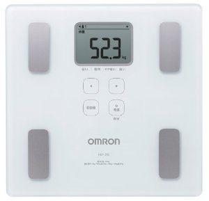 オムロン 体重体組成計 カラダスキャン HBF-214-W ホワイト
