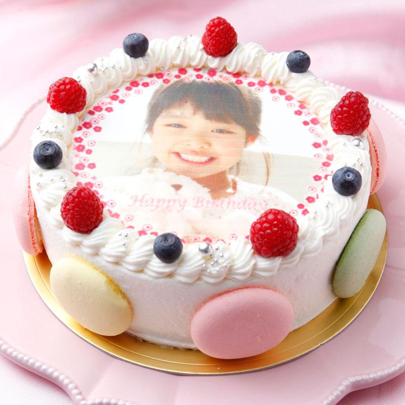 シェリーブランの写真ケーキ