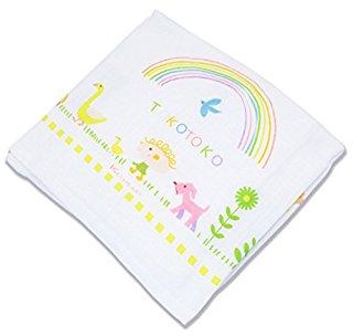 正方形の赤ちゃんバスタオル