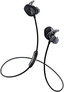 Bose SoundSport wireless headphones : ワイヤレスイヤホン 防滴/Bluetooth・NFC対応/リモコン・マイク付き ブラック SSport WLSS BLK【国内正規品】