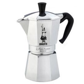 ビアレッティ MOKA EXPRESS 6カップ用/モカ エキスプレス 直火式[1163] コーヒーメーカー 珈琲 カフェ
