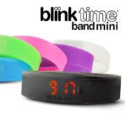 BLINK TIME BAND ブリンクタイム メンズ レディース デジタル 腕時計 シリコンウォッチ