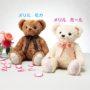 結婚式で両親にプレゼント☆生まれた時の体重のクマのぬいぐるみ(ウェイトドール)