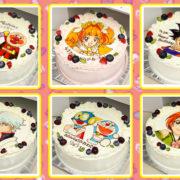 子供がビックリ&大喜びするバースデーケーキ「キャラクターケーキ」
