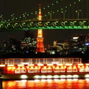 大人なデートに最適。東京の夜景船でロマンチックな時を過ごしました