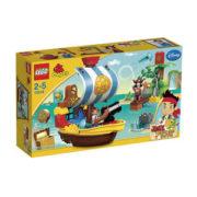 レゴ デュプロ ジェイクとネバーランドのかいぞくたちジェイクの海賊船バッキー 10514【新品】 LEGO 知育玩具